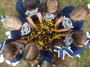 cheer circle